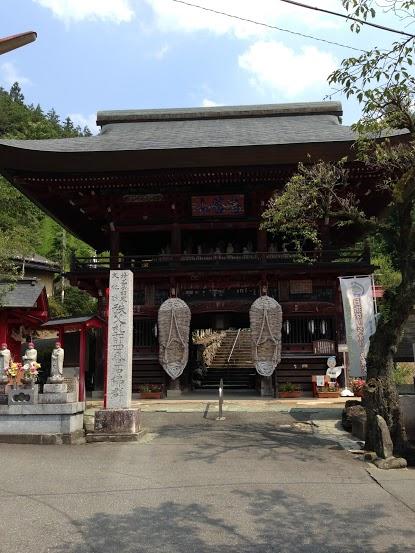あの花の舞台は秩父札所17番定林寺、それとは関係ないけど4番金昌寺に行ってきたよ
