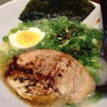 名古屋驛麺通りの名古屋らーめん「なご家」でバルサミコ香油が旨い鶏そば