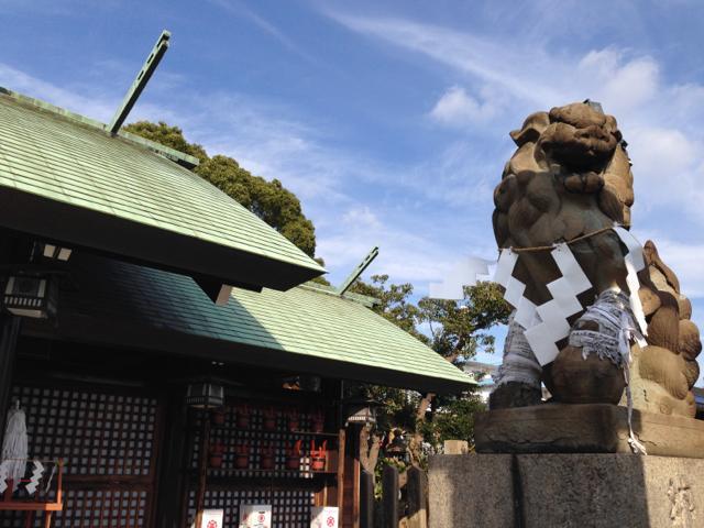 和田神社狛犬