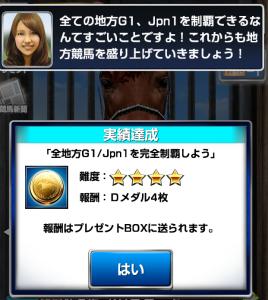 G1/Jpn1完全制覇